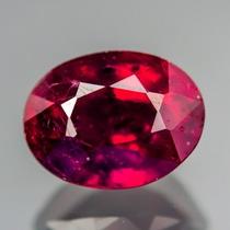 Espetacular Rubi Vermelho Sangue 1,65 Cts.