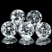 Joalheriavip 5 Diamantes Naturais Vvs/vs Naturais 4 Pts Cada