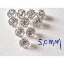 Frete Grátis! 50 Pedras De Zirconias De 5mm Apenas!