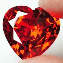 Espetacular Diamante Vermelho De Laboratório 114,35 Cts.
