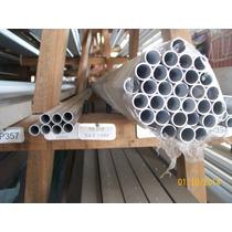 Tubo Redondo De Alumínio Natural 3/4 (19,5 X 1,10 X 1000