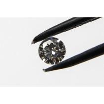 Diamante Natural 10 Pontos, Cor D, Vvs1, Lapidação Brilhante