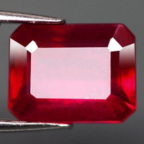 Espetacular Rubi Natural Vermelho Sangue 1,24 Cts.