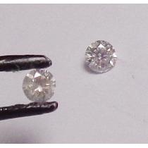 Diamante Brilhante De 5 Pontos 2,3 Mm Legitima Natural