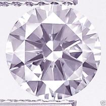 Diamante 0.47ct - Rosa - Si - Lapidação Brilhante