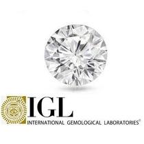 Diamante 0.39ct - E - Si2 - Lap. Brilhante - Certificado Igl