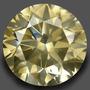 Diamante 1.62ct - Champagne - Si2 - Lapidação Brilhante