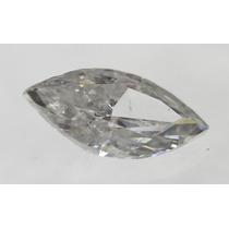 Diamante 0.51ct - E - Si3 - Lap. Navete - Certificado Igl