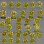Lote De Diamantes 1.00ct - Amarelo - Si - Lapidação Brilh...