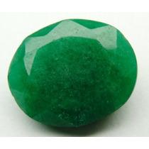 Esmeralda 100% Natural Oval Verde 8.35 Cts! Ref.:204