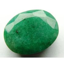 Esmeralda 100% Natural Oval Verde 10.50 Cts! Ref.:200