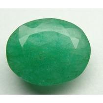 Esmeralda 100% Natural Oval Verde 8.05 Cts! Ref.:244