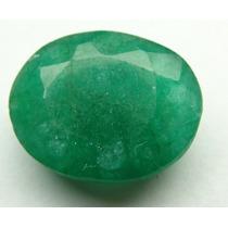 Esmeralda 100% Natural Oval Verde 8.50 Cts! Ref.:247