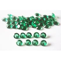 Frete Gratis! Esmeraldas Zirconias! 10 Pedras