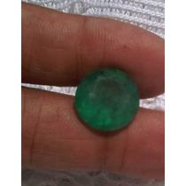 Esmeralda Grande Redonda Facetada 10,410 Cts