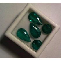 Esmeraldas Transparentes Boa Cor ! Conjunto