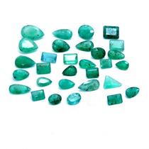Lindo Lote Esmeralda 30 Pedras 45.0 Cts