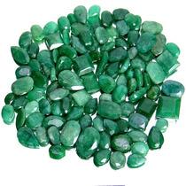 Lote Esmeralda 100% Natural Verde Intenso 705 Cts 106 Pçs