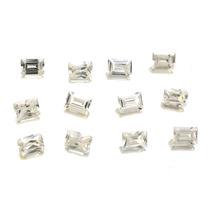 Lote Pedras Preciosas 12 Zircônias Brancas J14451
