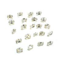 Lotes Pedras Preciosas 24 Zircônias Brancas J14455