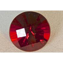 Rsp 756 Magnífica Opala De Fogo Vermelha Circular Com 9,5 Ct