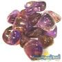 Ametrino Unid. 2cm Pedra Gema Natural Polida P/ Coleção