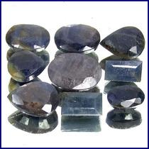 Safira Azul Facetada Lote 100 Cts