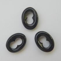 Ônix Negro Pedra Preciosa Natural Lapidação Livre 7573