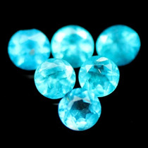 Apatitas Azuis Facetadas 4,26 Cts
