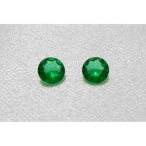 Esmeralda Cristal - 2 Pedras - 5mm