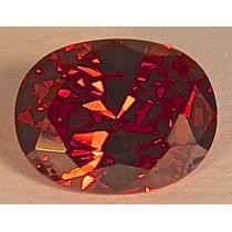 Rsp 1975 Granada Piropo Oval 14x10mm Preço Por Pedra 9,65 Ct