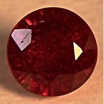 Rsp 1536 Rubi Sangue De Pombo Volta De 7,1mm Com 2,4 Ct