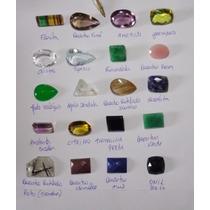 Pedras Preciosas Lote C 467 Cts Esmeralda Topazio Ametista..