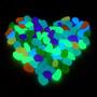 20 Pedras Luminosas Que Brilham A Noite - Coloridas