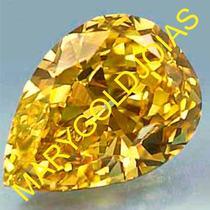 O Legítimo Brilhante Russo Amarelo Canário Com 1.1 Quilates!