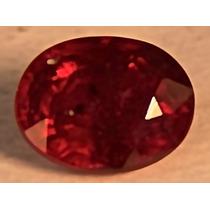 Rsp 1672 Rubi Sangue De Pombo 7,7x5,9mm Com 1,6 Ct