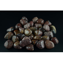 1 Kg -pedras Roladas Jaspe Leopardo - Jlg