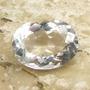 Lindo Cristal Príncipe Branco 18.11 Cts Multifacetada Extra
