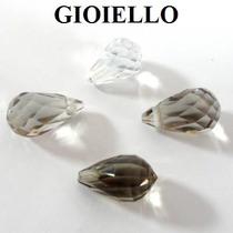 Leilão Lote 4 Quartzo Fumé 1 Cristal Pingo - 5,66 Cts G-795
