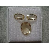 Natural Pedras Citrino Cor Belissima Para Brincos E Anel