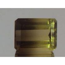 Pedra Pra Anel Natural Quartzo Greengold Bicolor 9,5 Cts