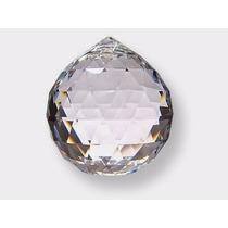 Esfera/ Bola De Cristal Multifacetada / Feng Shui / 50 Mm