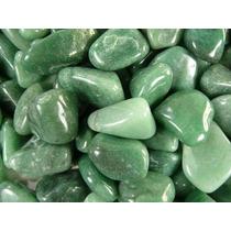 Quartzo Verde - Aventurina - Pedras De 2 A 3,5 Cm - 500 Gr