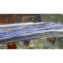 Cianita Azul Bruta/espada De São Miguel/pedra 17cm P/coleção