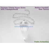 Pêndulo Cristal Super Extra Transparência Frete Barato