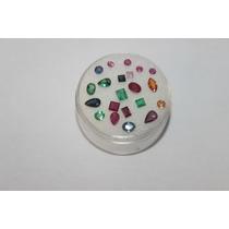 Lindas Safiras Esmeraldas Rubis Naturais Lote De 21 Pedras