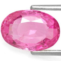 Joalheriavip 0.50ct. Safira Rosa Oval Natural 6x4mm