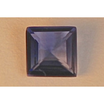 Rsp 1666 Linda Safira Azul Square Translúcida Com 0,95 Ct