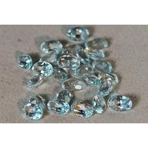 Rsp 952 Conjunto Topázio Azul Claro Preço Por Pedra 0,47 Ct