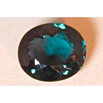 Rsp 475 Topázio Azul Esverdeado 18x15,5mm Com 18,6 Ct